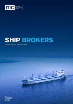Ship brokers - ITIC