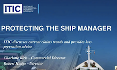 protecting the ship manager ITIC webinar screenshot