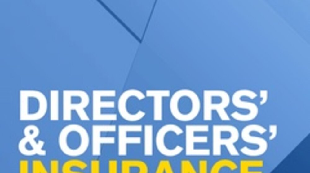 Directors and officers insurance